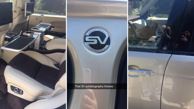 Kylie Jenner's Custom Land Rover