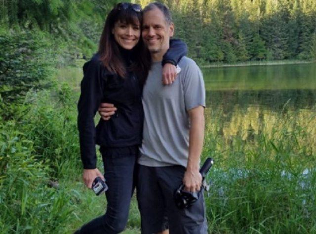 Liz Vassey and David Emmerichs