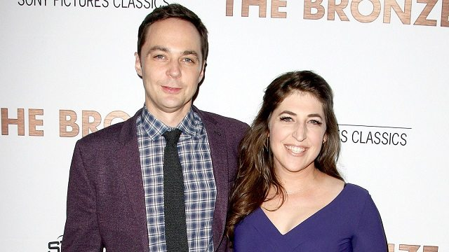 Mayim Bialik and Big Bang Theory co-star, Jim Parsons
