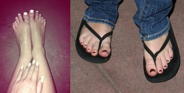 Miley Cyrus Feet, Shoe Size And Shoe Collection-8677