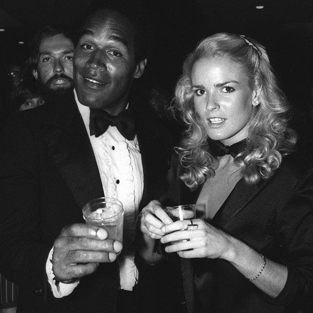 Nicole Brown and O. J. Simpson