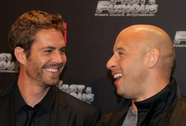 Paul WalkerAnd Vin Diesel