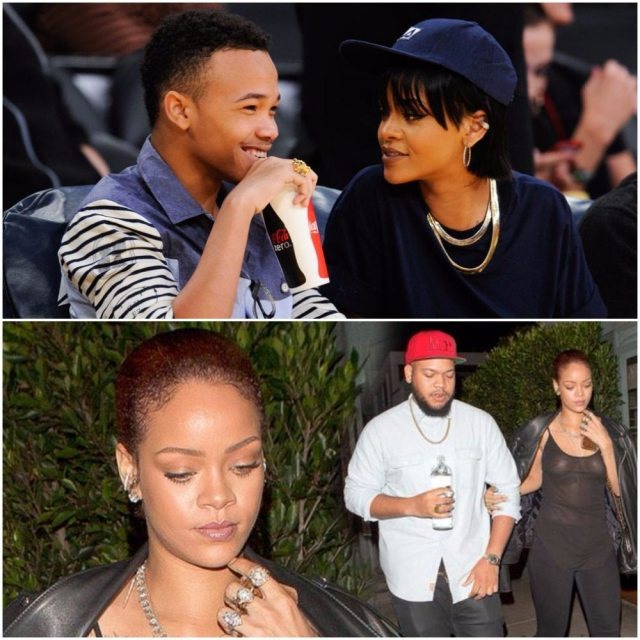 Rihanna Boyfriend Parents Mom Brother And Sister