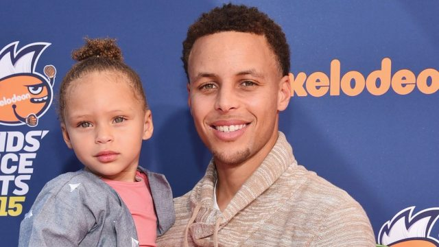 Stephen Curry's Kids Riley