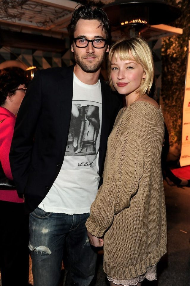 Ryan Eggold and Hailey Bennet