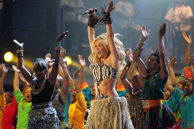 Shakira's height 3