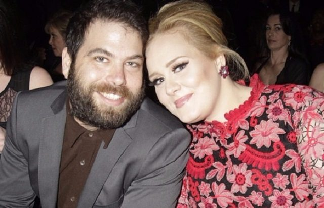 Simon Konecki and wife, Adele
