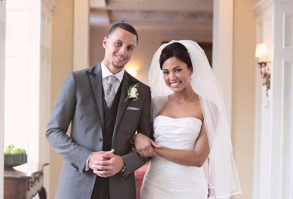 Stephen Curry's kids wedding
