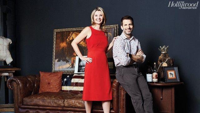 Zack Snyder and Wife, Deborah