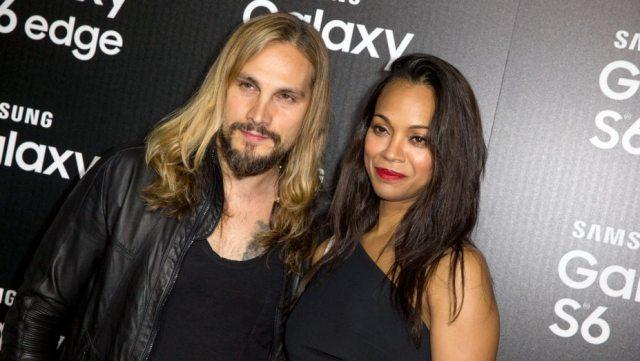 Zoe Saldana and Husband