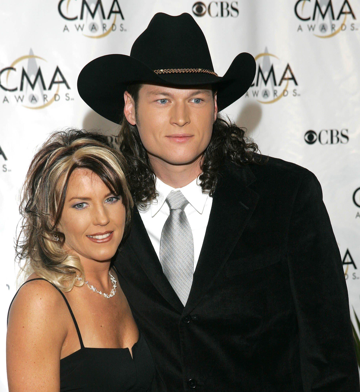 Blake Shelton's height wife1
