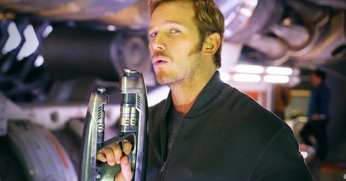Chris Pratt's height 9