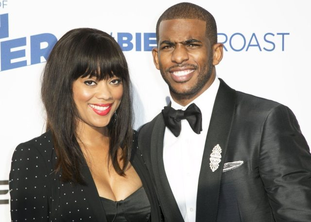 Chris Paul's wife 1