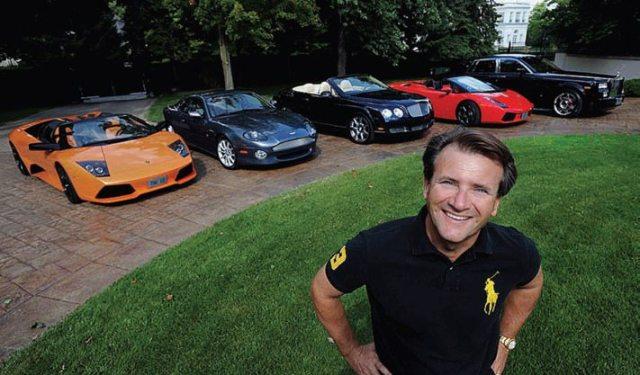 Robert Herjavec cars