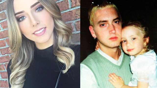 Eric hartter - Eminem and daughter, Hailie Jade Scott