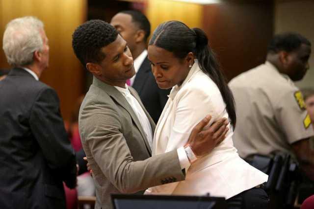 Usher married 3