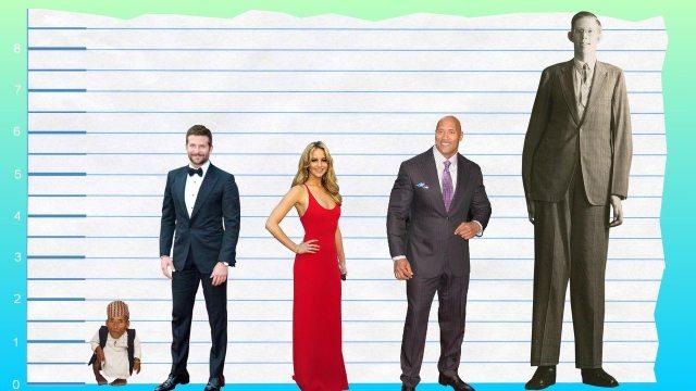 Bradley Cooper's height 5