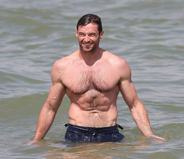 Hugh Jackman's height 6