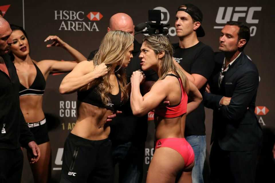 Ronda Rousey's height 4