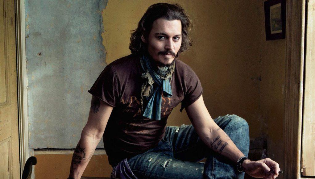 Johnny Depp's height dp