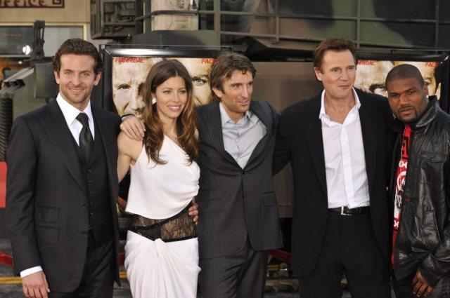 Liam Neeson's height 3