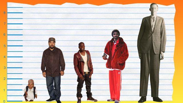 Ice Cube's height 4