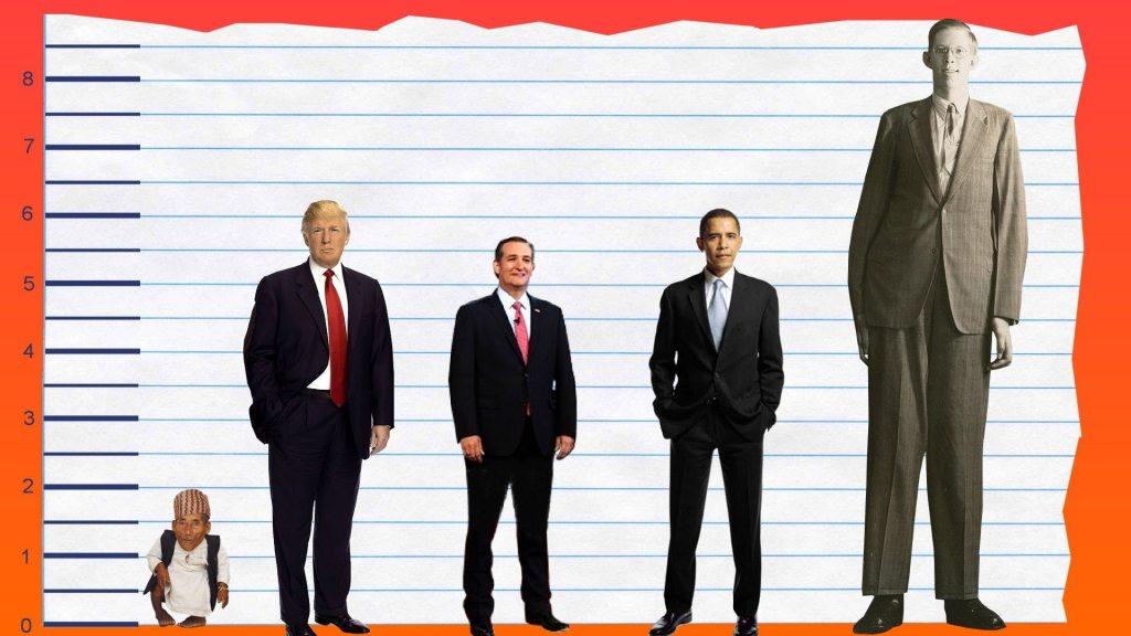 Donald Trump's height 3