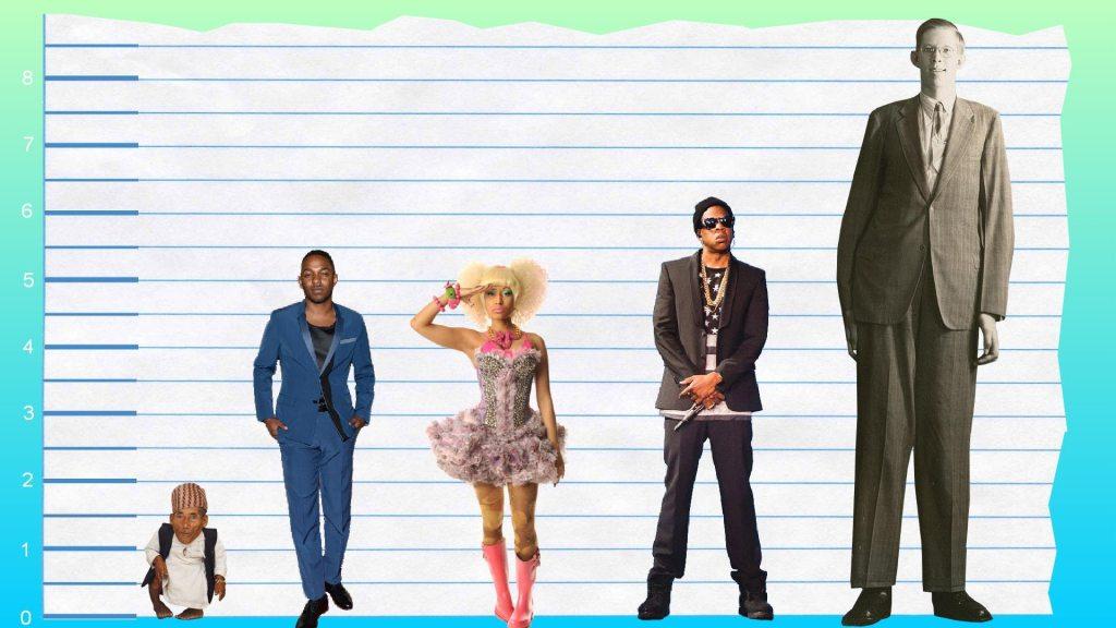 Kendrick Lamar's height 4