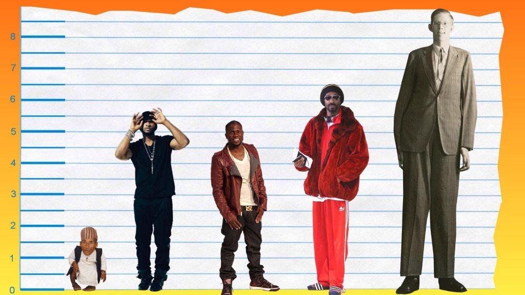 Usher's height 5