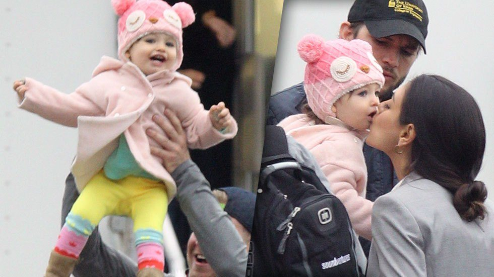 Mila Kunis baby 8