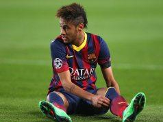 Neymar's height dp