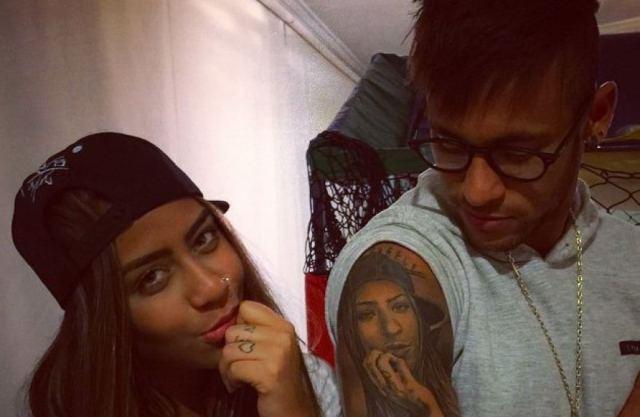 Neymar's girlfriend 9 sis