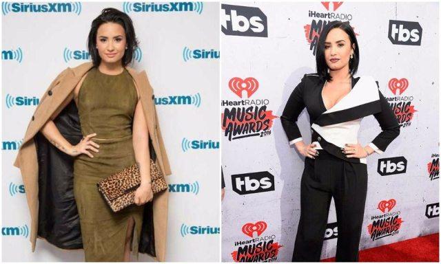 Demi Lovato's height 6