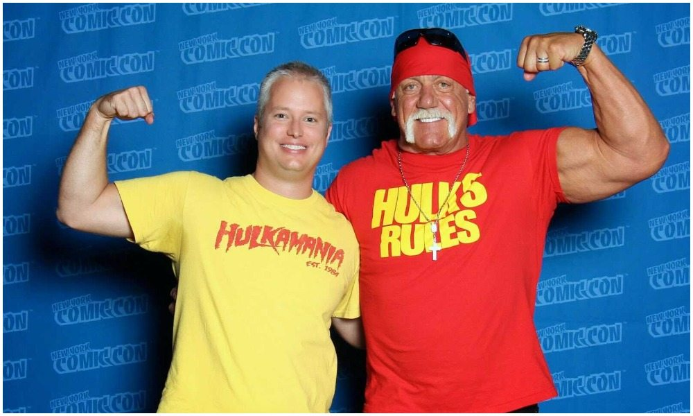 Hulk Hogan's height 4