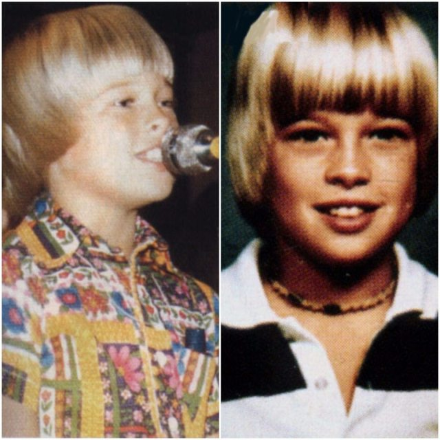 Young Brad Pitt dp