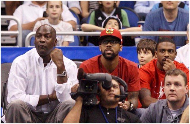 Michael Jordan's kids dppp