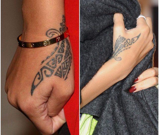 Rihannas Tattoos Dragon