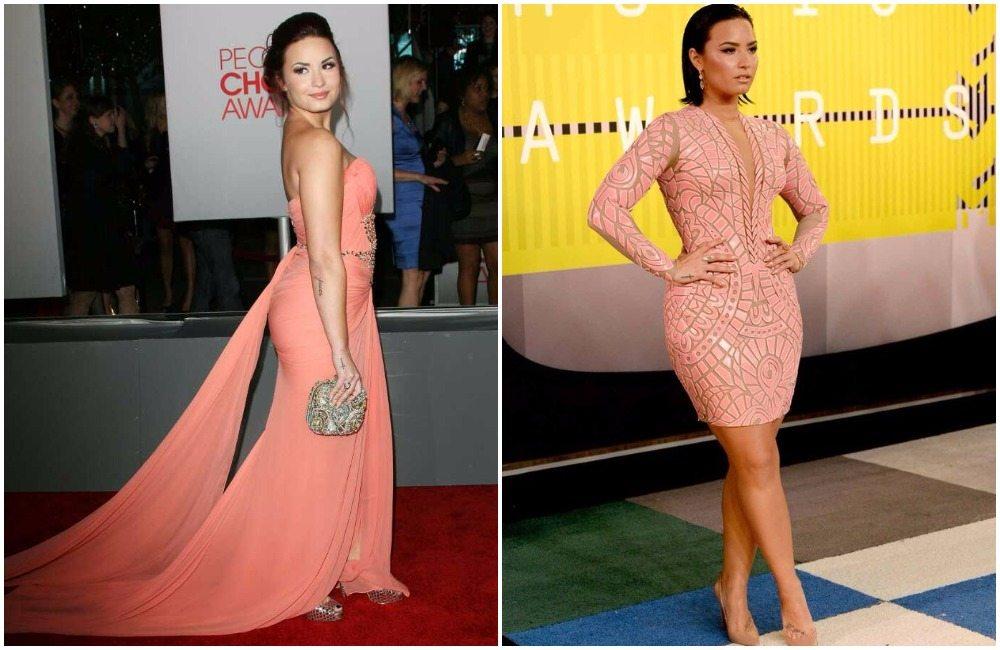 Demi Lovato's height 7