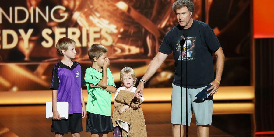 Will Ferrell's wife kids