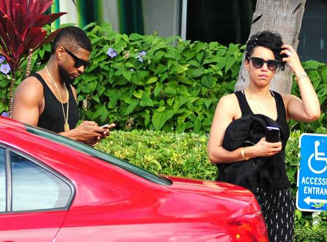 Usher married 4