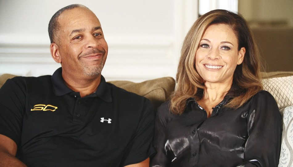 Stephen Curry's brother parents