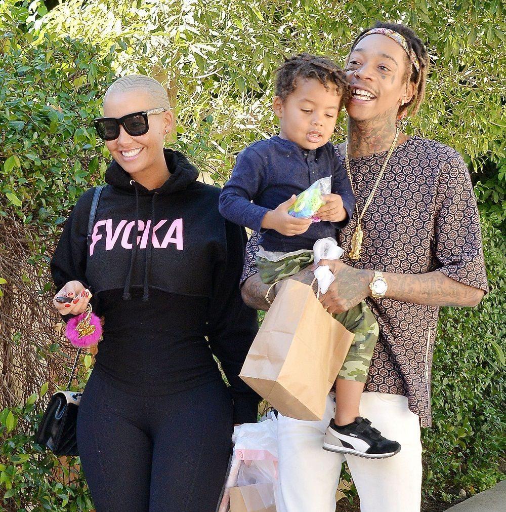 Wiz Khalifa's house family