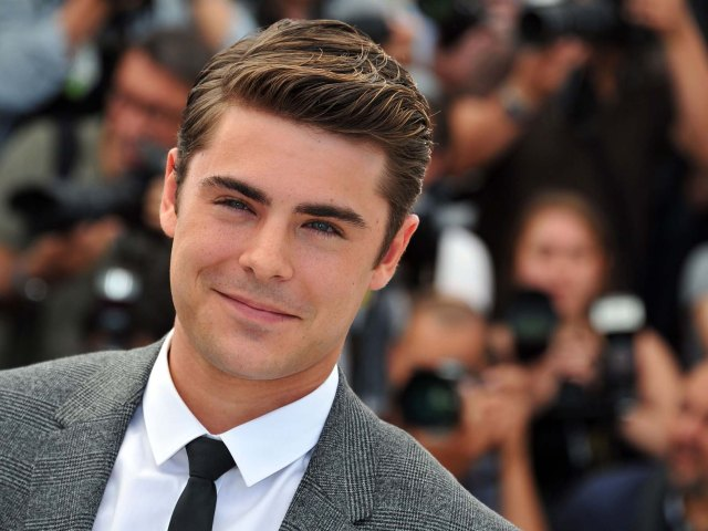 zac efron hairstyle, tattoo and abs