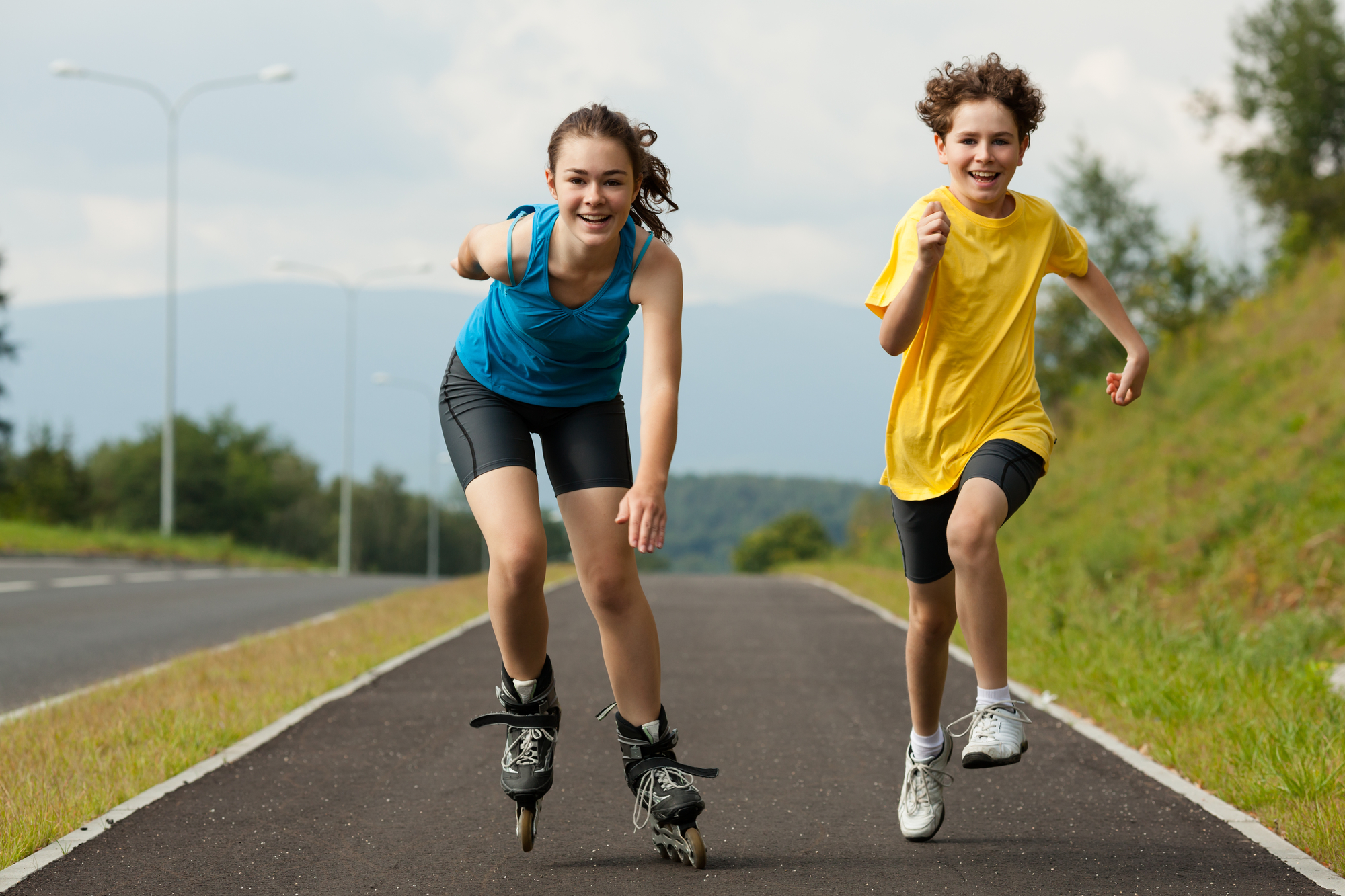 14-year-olds exercising to grow taller
