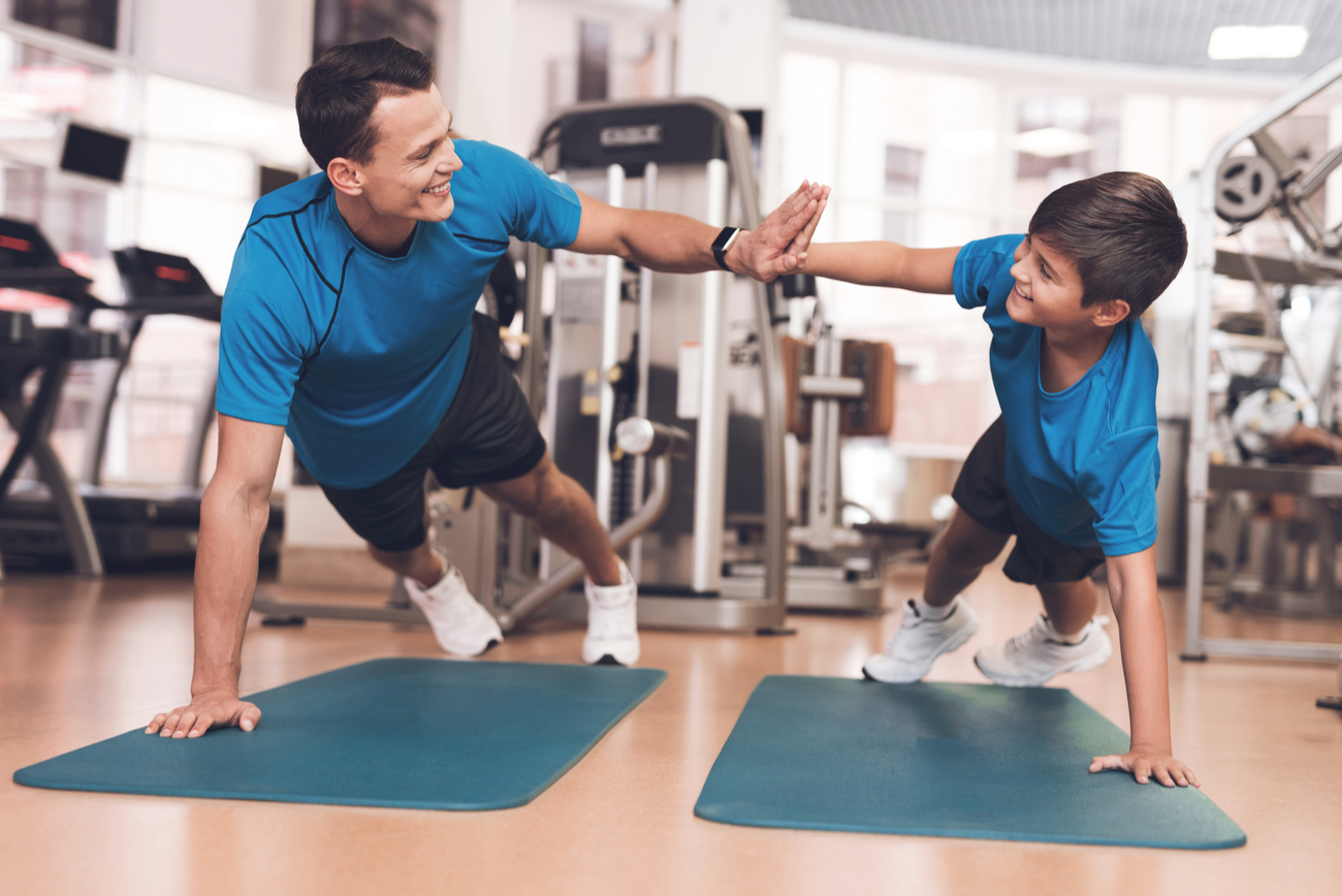 exercise with your child