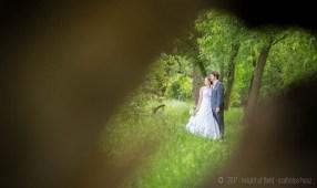 Balázs és Anna esküvő, kreatív fotó