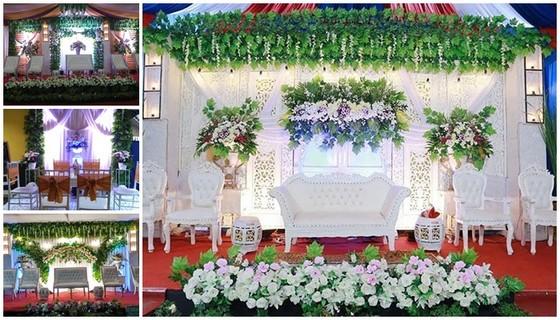Dekorasi pernikahan sleman - Embun Pagi