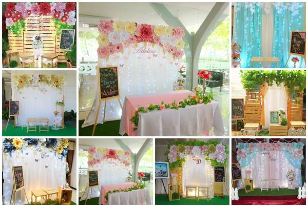Tren Untuk Foto Dekorasi Pernikahan Di Rumah Bacaan Menarik