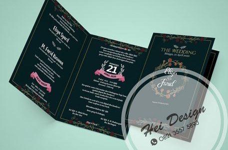 #1 Cetak Undangan Pernikahan Purwokerto Murah Elegan