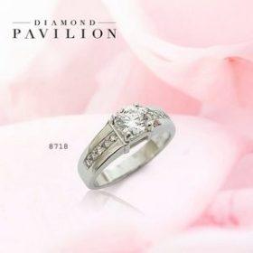 Foto Cincin Berlian Tunangan